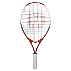 The US Open Junior Tennis Racket is extremely lightweight and easy to swing. It's the perfect choice for players beginning to learn to play tennis.