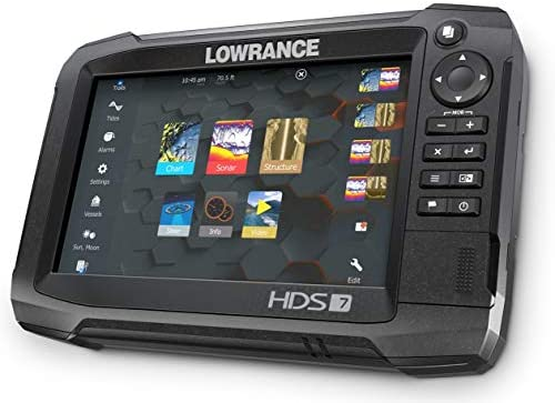 Lowrance HDS-7 Carbon MFD with TotalScan Transom Mount Transducer: Amazon.es: Deportes y aire libre