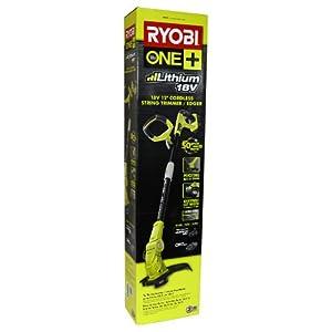 Ryobi P2060 One+ 18v Lithium-Ion 12in. String Trimmer/Edger Kit