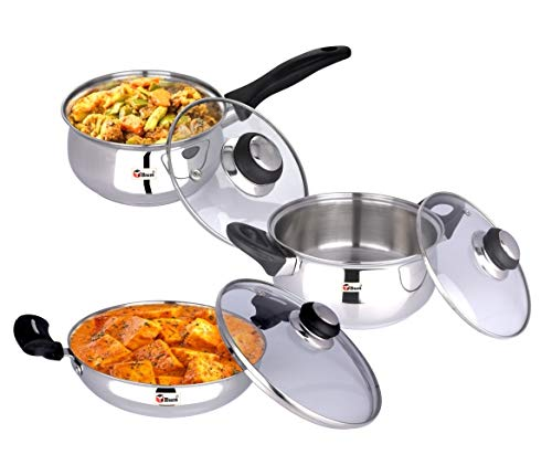 Ebun-Cooking-Set-for-Kitchen-Stainless-Steel-Induction-Base-Medium-Size-Kitchen-Set-for-Home-Cooking-Combo-of-Cooking-Pot-Frying-Pan-and-Sauce-Pan-with-Glass-lid