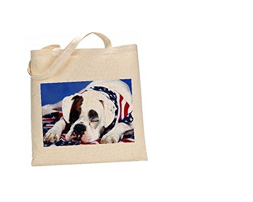 Bulldog American 100 Coton fc Dog 7 Sac vaqagOF