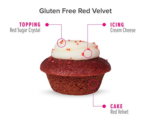 Baked by Melissa Cupcakes The OMGF (Oh My Gluten Free) - Assorted Bite-Size Cupcakes, 50 Count by Baked by Melissa (Image #4)