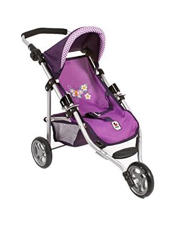 Bayer Chic 2000612 28 – Lola Cochecito Infantil, Morado, a Cuadros,