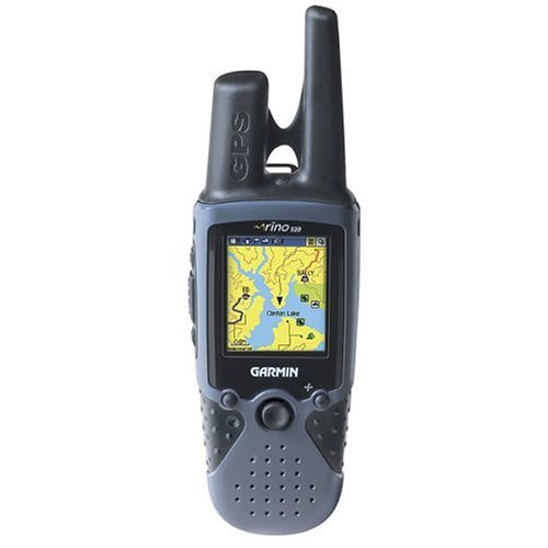 Walkie Talkie Gps - Garmin Rino 520 14-Mile 22-Channel Waterproof FRS/GMRS Two-Way Radio and GPS Navigator