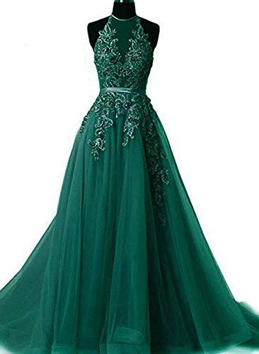 Buy applique prom dress