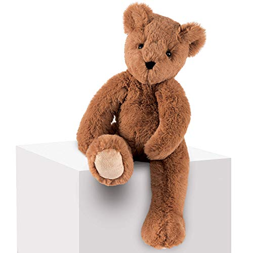Vermont Teddy Bear Soft Bear - Soft Teddy Bear Stuffed Animal, Plush Toy for Kids, Brown, 15 inches