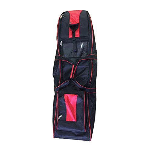 JP Lann Golf Bag Travel Cover with Wheels (Roller Travel Cover Bag Golf)