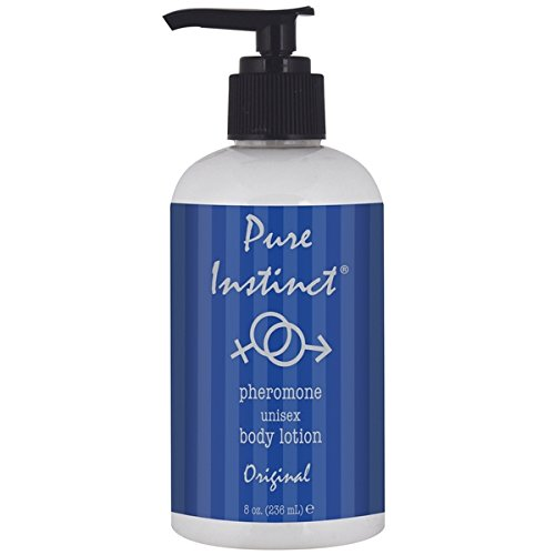 Pure Instinct Pheromone Unisex Body Lotion, Original Scent, 8 Fluid Ounce