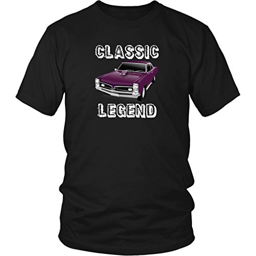PONTIAC CLASSIC LEGEND Car T Shirt Classic Legend Pontiac GTO 1967 Vintage Race Car Unisex Classic Cars T Shirts for Men and Women
