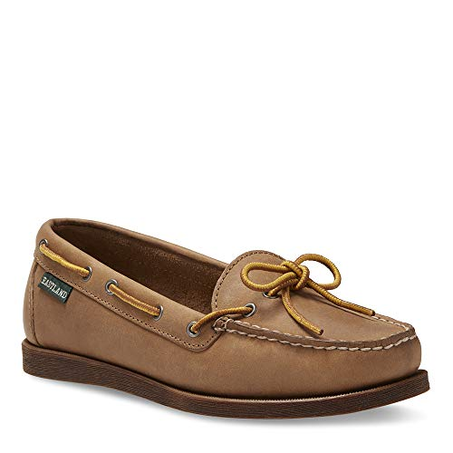 - Eastland Women's Yarmouth Camp Moc Slip-on, Natural, 9.5 M US
