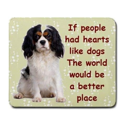 Cavalier King Charles Spaniel Tricolor Dog Mousepad Mouse PAD 95130085