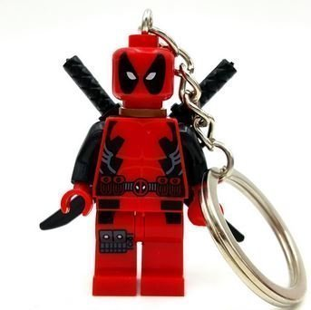 Lantern Ryan Suit Reynolds Green (RedDeadpool Marvel SuperHeroes Keychains Minifigures figures new in sealed bag Size)