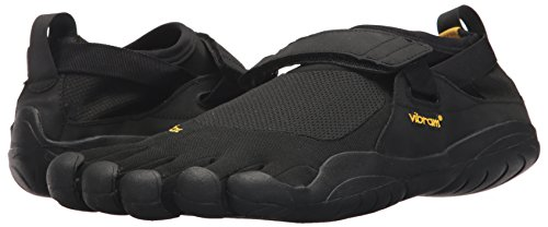 Vibram Men's Five Fingers, KSO EVO Cross Training Shoe Black Black 4.4 M by Vibram (Image #6)