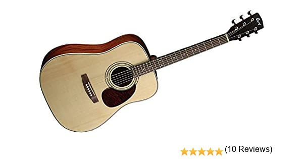 Cort Earth 70 E70NS - Guitarra (madera), brillante: Amazon.es ...