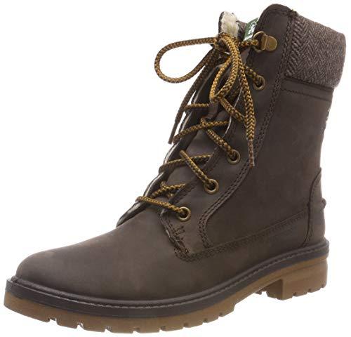Kamik Women's Rogue Waterproof Winter Boot Dark Brown 10 M U