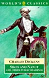 Sikes and Nancy and Other Public Readings, Charles Dickens, 0192816179