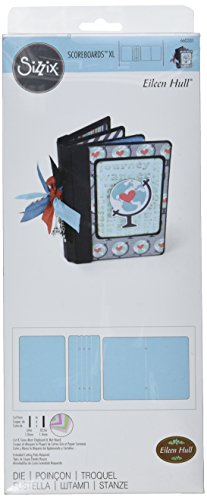 Sizzix ScoreBoards Die Book, Passport by Eileen Hull, X-Large by Sizzix