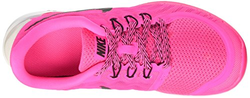 Nike Free 5.0, Running Fille, Mehrfarbig Rose (Pink Power/Black/Vivid Pink/White 600)
