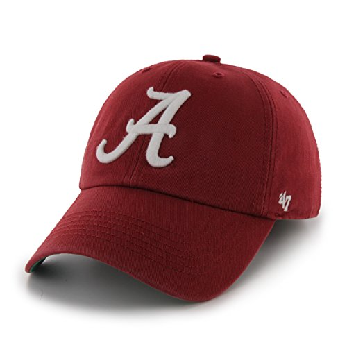 '47 NCAA Alabama Crimson Tide Franchise Fitted Hat, Razor Red, Large
