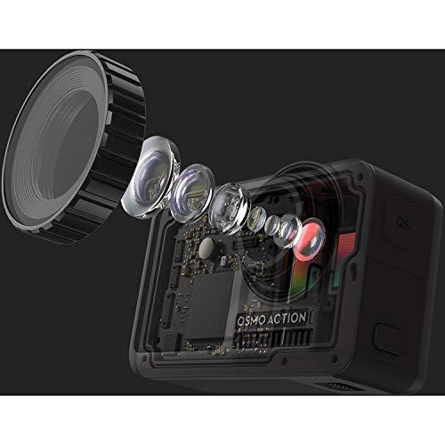 DJI Osmo Action 4K HDR Waterproof Camera Essentials Dual-Battery Bundle
