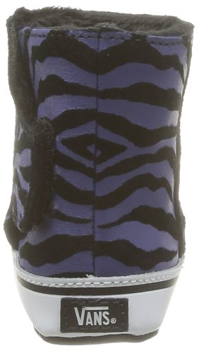 Vans I Slip-On Boot - Zapatillas para bebé Negro (Noir (Suede Zebra/B))
