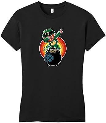 Dabbing Leprechaun Funny St Patrick's Day Juniors T-Shirt