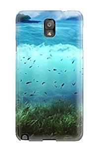 Galaxy Cover Case - World Of Sea Protective Case Compatibel With Galaxy Note 3