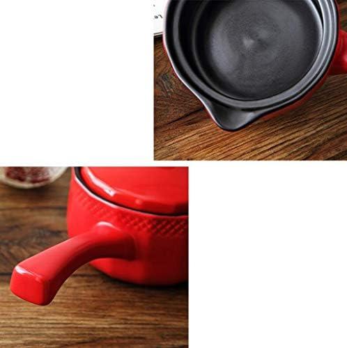 HQQ Pot à Lait en céramique Mini ménage Pot à Petit-déjeuner Pot pour Petit complément pour bébé Pot pour bébé