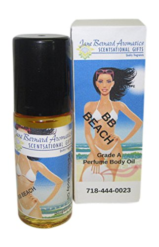 "Jane Bernard Perfumed Body Oil Inspired byBB BEACH_Type Women Fragrance - Long Lasting Scent_1 ounce Jumbo Roll On_Grade""A"" Oil"