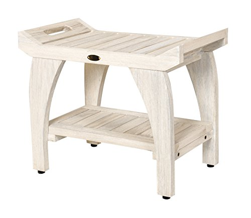 EcoDecors Tranquility Shower Bench, 24