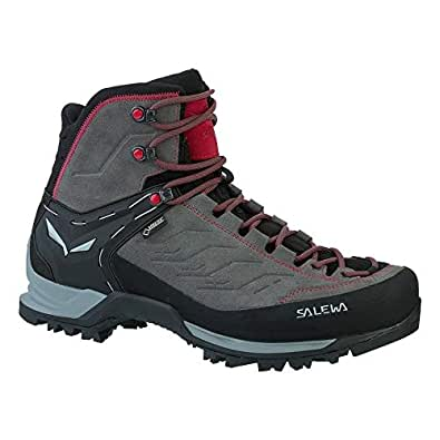 Salewa MTN Trainer Mid GTX Walking Boots 10 D(M) US Charcoal Papavero