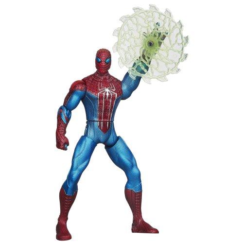 The Amazing Spider-Man Web Battlers Web Blade Spider-Man Figure ()