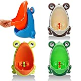 RIBITENS Cartoon Frog Children Potty Toilet Wall-Mounted Bathroom Training Kid Toddler Boys Urinal