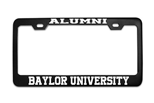 YEX Alumni Baylor University License Plate Frame Car Tag Frame Auto License Plate Holder 12