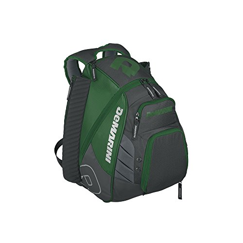 DeMarini Voodoo Rebirth Backpack, Dark Green