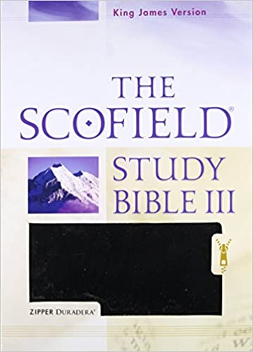 Holy Bible: King James Version, The Scofield Study Bible III