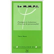 Le Mmpi, Pratiques et Evolutions Test Personnalite