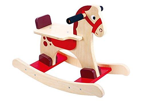 Tooky Toy - Caballito balancín de madera Ltd. TKC279