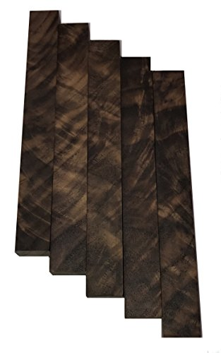 Burled Highly Figured Walnut Pen Blanks 5Pcs