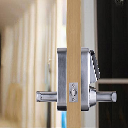 ardwolf a31 electronic keyless keypad door lock set key code locks. Black Bedroom Furniture Sets. Home Design Ideas