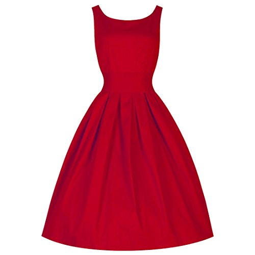 6907180b2e Amazon.com  Women s Vintage 50s Shirtwaist Flared Party Work Swing Skaters  Dress  Clothing