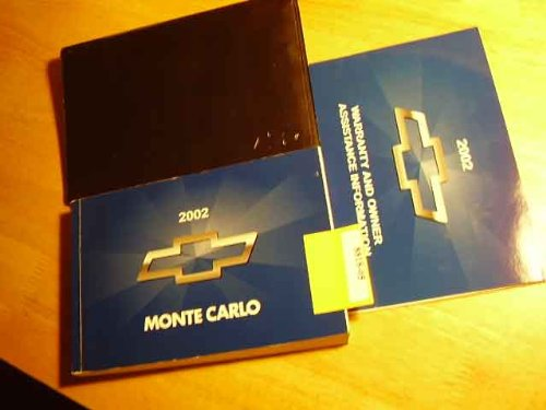 2002 Chevrolet Monte Carlo Owners Manual