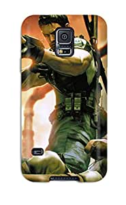 Excellent Galaxy S5 Case Tpu Cover Back Skin Protector Resident Evil 5