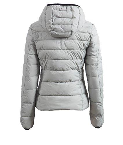 Natural Para Mujer Súper Abrigo Acolchado Poliéster Gris Collyn Refrigiwear Ligero En qASnTx