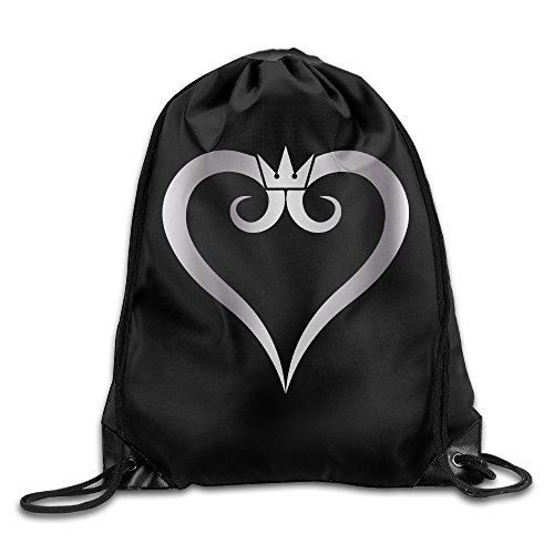 Outdoor Kingdom Hearts Platinum Style Drawstring Backpack For Sale