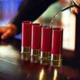 12 Gauge Shot Glasses Set of 4 - Made in the USA