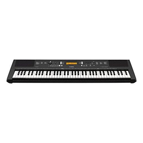a281a66e2ed Yamaha PSR-EW300 SA 76-Key Portable Keyboard Bundle with Stand and Power  Supply