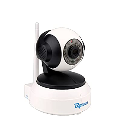 BAVISION Wifi Wireless IP Home Security Camera Baby Monitor Pet/Dog/Nanny/Elderly Camera Plug/Play Pan/Tilt Remote Streaming Video Cameras with Two-Way Audio and Night Vision