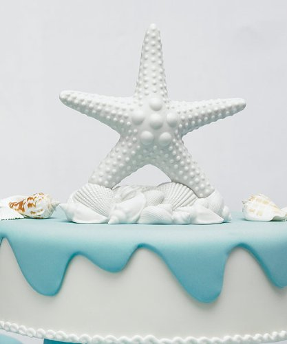 Weddingstar Starfish Cake Topper