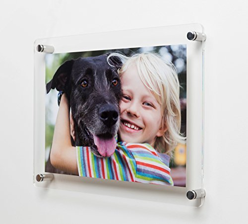 Wall Mounted Clear Acrylic Photo/Certificate Frame for A3 Prints (12 x 17/ 11 x 17) U.S Tabloid/Ledger Size